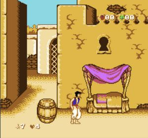 Thumbnail image of game Aladdin 4