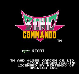 Thumbnail image of game Bionic Commander