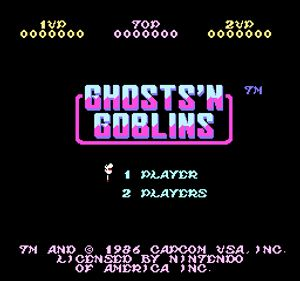 Thumbnail image of game Ghosts n' Goblins