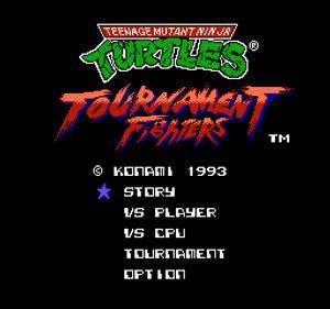 Thumbnail image of game Teenage Mutant Ninja Turtles - Tournament Fighters