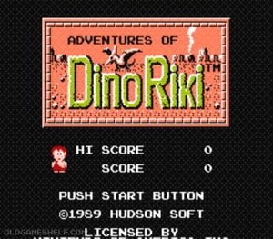 Thumbnail image of game Adventures of Dino Riki