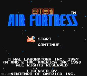 Thumbnail image of game Air Fortress