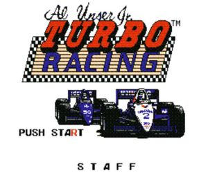Thumbnail image of game Al Unser Jr. Turbo Racing