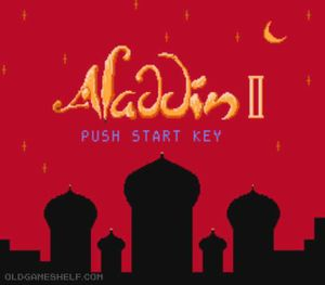 Thumbnail image of game Aladdin 2