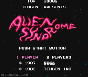 Thumbnail image of game Alien Syndrome