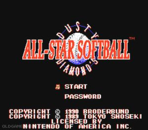 Thumbnail image of game All-Star Softball