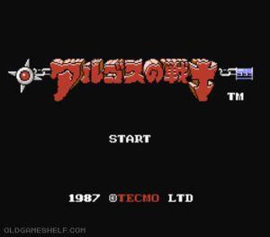 Thumbnail image of game Argos no Senshi