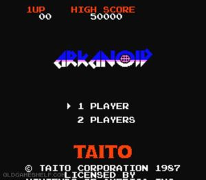 Thumbnail image of game Arkanoid