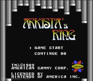 Thumbnail image of game Arkista's Ring