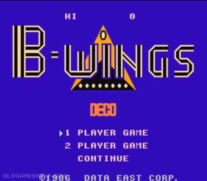 Thumbnail image of game B-Wings