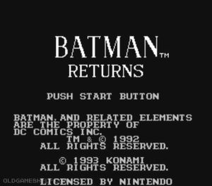 Thumbnail image of game Batman Returns