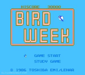 Thumbnail image of game Bird Week