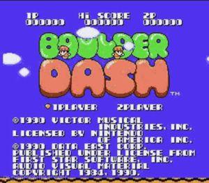 Thumbnail image of game Boulder Dash