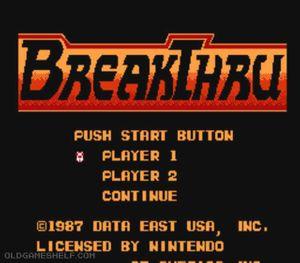 Thumbnail image of game Breakthru
