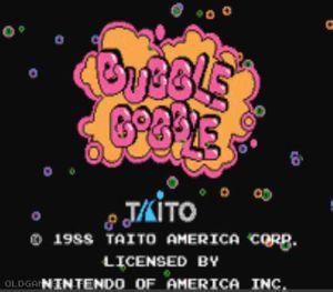 Thumbnail image of game Bubble Bobble