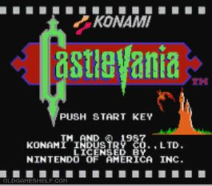 Thumbnail image of game Castlevania