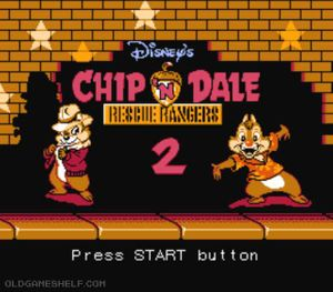 Thumbnail image of game Chip 'n Dale Rescue Rangers 2