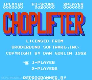 Thumbnail image of game Choplifter