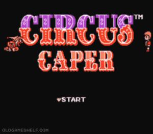 Thumbnail image of game Circus Capers