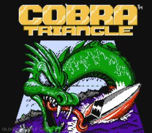 Thumbnail image of game Cobra Triangle