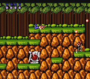 Contra (NES) - Online Game | OldGameShelf com