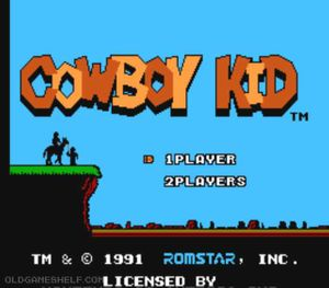 Thumbnail image of game Cowboy Kid