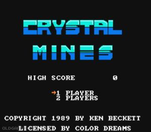 Thumbnail image of game Crystal Mines