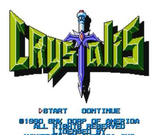 Thumbnail image of game Crystalis