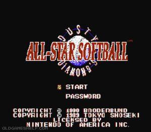 Thumbnail image of game Dusty Diamond's All-Star Softball
