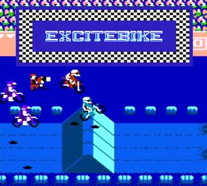 Thumbnail image of game Excitebike