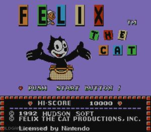 Thumbnail image of game Felix the Cat