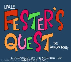 Thumbnail image of game Fester's Quest