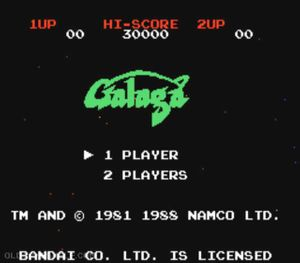 Thumbnail image of game Galaga