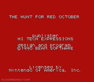 Thumbnail image of game Hunt for Red October