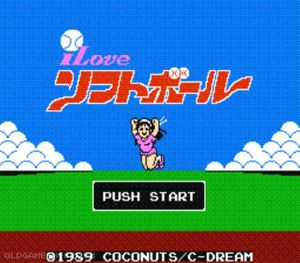 Thumbnail image of game I Love Softball Jap