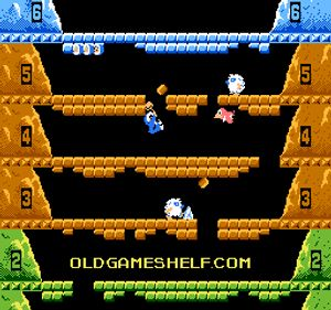 Thumbnail image of game Ice Climber