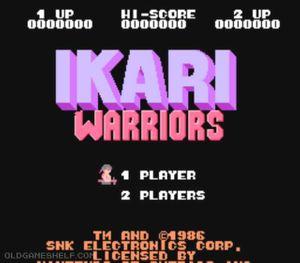 Thumbnail image of game Ikari Warriors