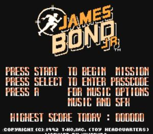 Thumbnail image of game James Bond Jr