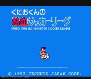 Thumbnail image of game Kunio Kun no Nekketsu Soccer League