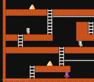 Thumbnail image of game Lode Runner