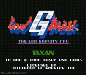 Thumbnail image of game Low G Man