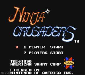 Thumbnail image of game Ninja Crusaders