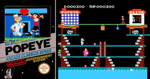 Thumbnail image of game Popeye