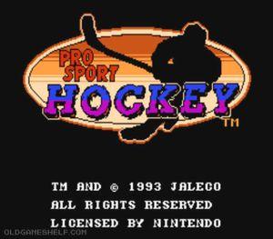 Thumbnail image of game Pro Sport Hockey