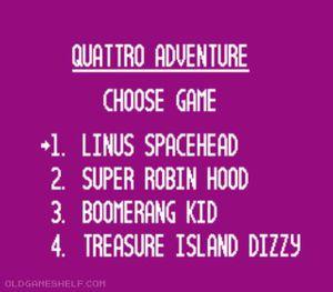 Thumbnail image of game Quattro Adventure