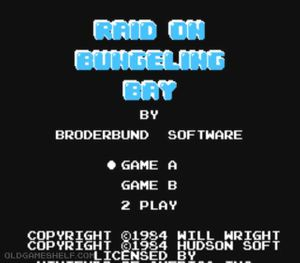 Thumbnail image of game Raid on Bungeling Bay