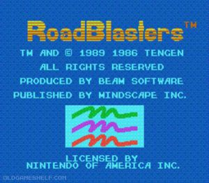 Thumbnail image of game RoadBlasters