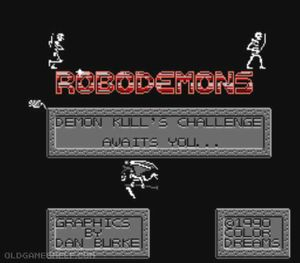 Thumbnail image of game Robodemons
