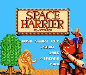 Thumbnail image of game Space Harrier