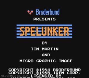 Thumbnail image of game Spelunker